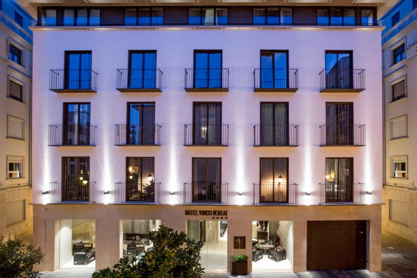 Vincii Hotel en la ciudad de valencia