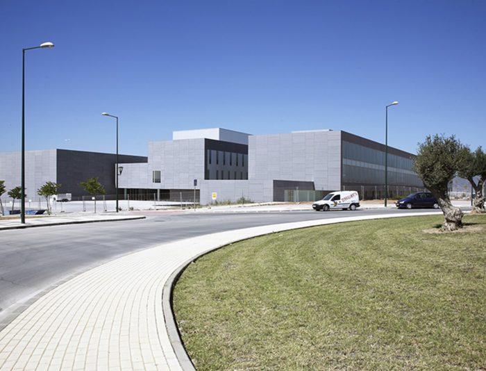 Edificio Económico y Social de la Universidad de Málaga