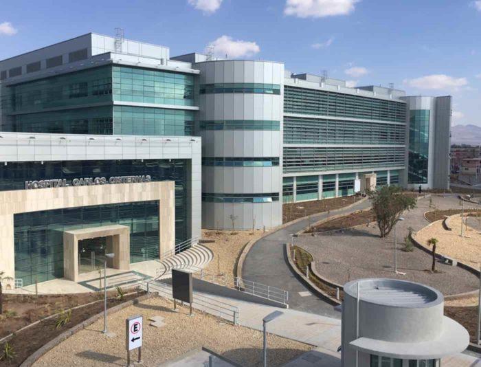 Nuevo Hospital Carlos Cisternas en Calama