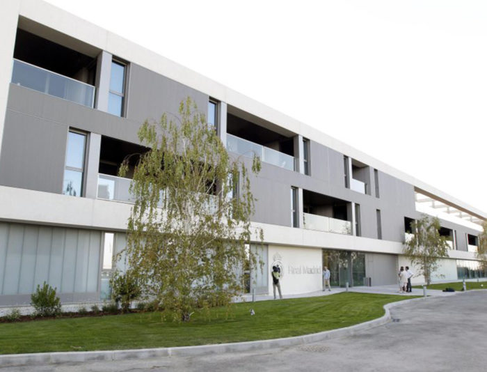Residencia 1er equipo Real Madrid Club de Fútbol 2