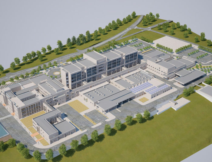 Maqueta hospital de ovalle